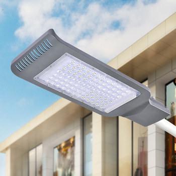 2018 New Design AC210-230V Direct Drive 40W 80W Cold White Ultrathin IP65 LED Street Light for Garden Yard Pathway Road