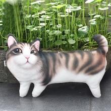 Lovely Creative Cartoon Cat Decorative font b Pillow b font Body font b Pillow b font