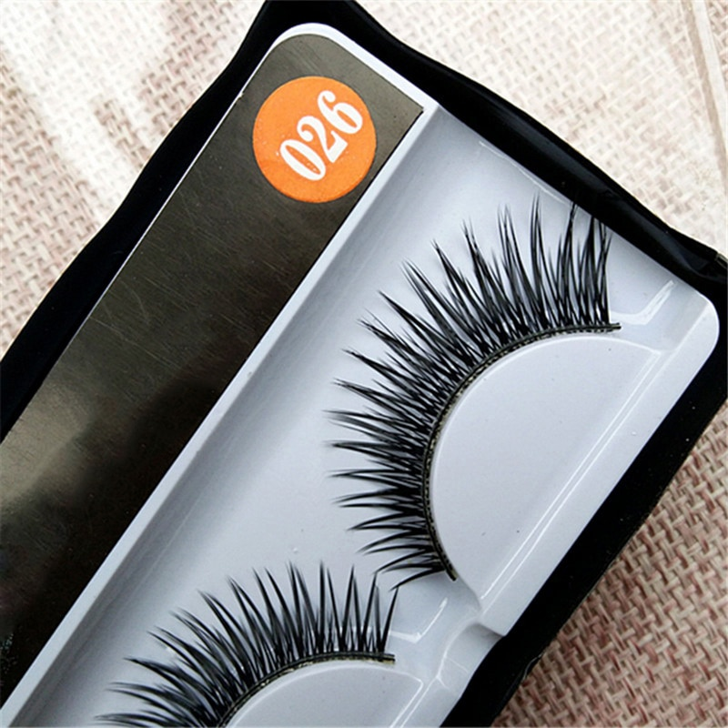 Beauty Essentials Initiative Manooby 1 Pair Extension Eyelash For Makeup Fake Eyelashes 100% Handmade Eye Lashes 3d Real Mink Makeup Thick False Eyelashes Products Hot Sale