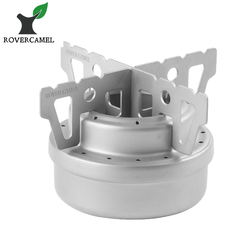 Rover Camel Portable Camping Hiking Titanium Mini Liquid Alcohol Stove Picnic Stove with Rack WST013 руководящий насос range rover land rover 4 0 4 6 1999 2002 p38 oem qvb000050