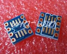 10шт SOP8 /TSSOP8 в корпусе dip8 заметки СМД в ДИП адаптер для AD797 OPA627