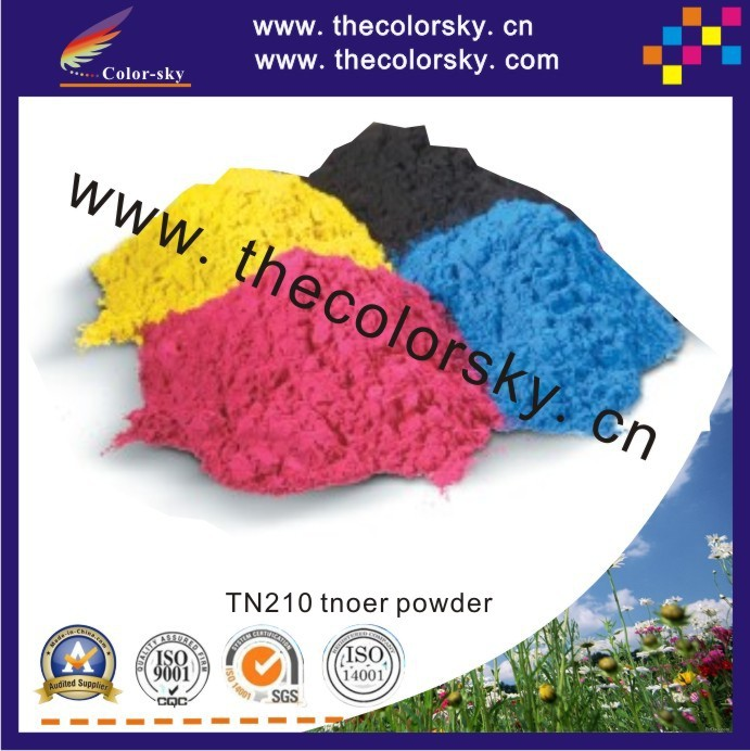 (TPBHM-TN135) premium color laser toner powder for Brother DCP 9040CN 9040 9044CN 9044 bk c m y 1kg/bag Free shipping by fedex
