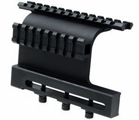 Тактический АК Двухместный Пикатинни Боковое крепление Системы винт Стиль для AK 47/74 подходит сайгак Тактический областей на верхней части диаметр оси