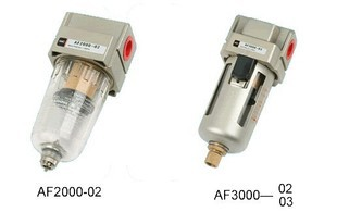 Pneumatic Air Filter AF3000-03 Rc3/8 epman universal 3 aluminium air filter turbo intake intercooler piping cold pipe ep af1022 af