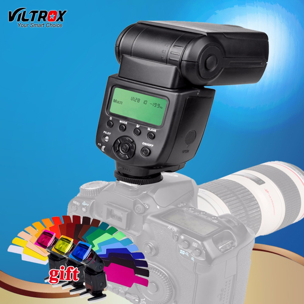 VILTROX JY-680A Universal Camera LCD Flash light Speedlite for Canon 1300D 760D 80D 5D IV 7D Nikon D5 D7200 D5500 Pentax Olympus viltrox jy 680a universal camera lcd flash speedlite for canon 1300d 1200d 760d 750d 700d 600d 70d 60d 80d 5d ii 7d dslr