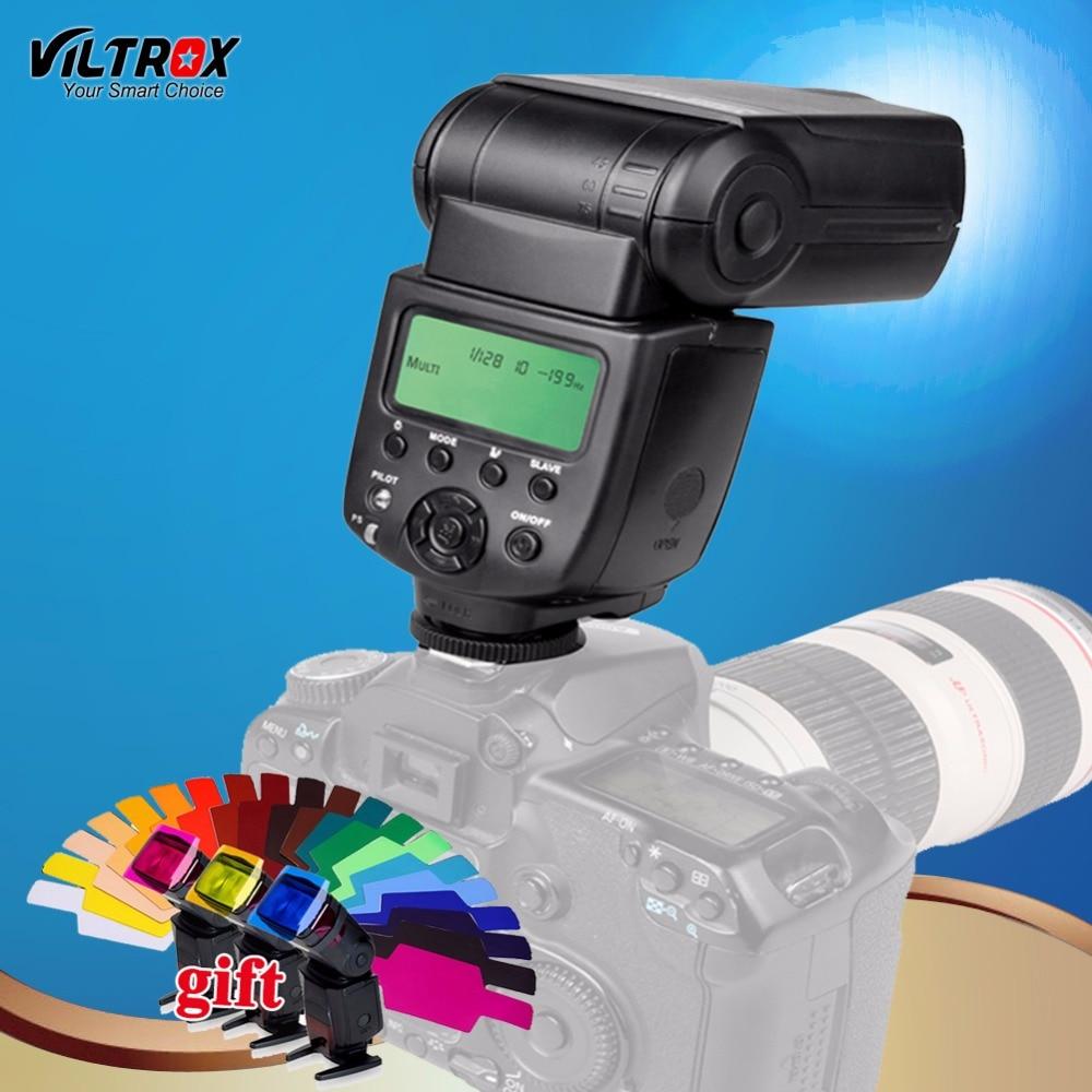 VILTROX JY-680A Universel Caméra LCD Flash light Speedlite pour Canon 1300D 760D 80D 5D IV 7D Nikon D5 D7200 D5500 Pentax Olympus