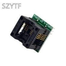 Qualidade superior chip programador sop8 sop16 soquete adaptador para dip8 CNV-SOP-NDIP16-8P OTS-16-03