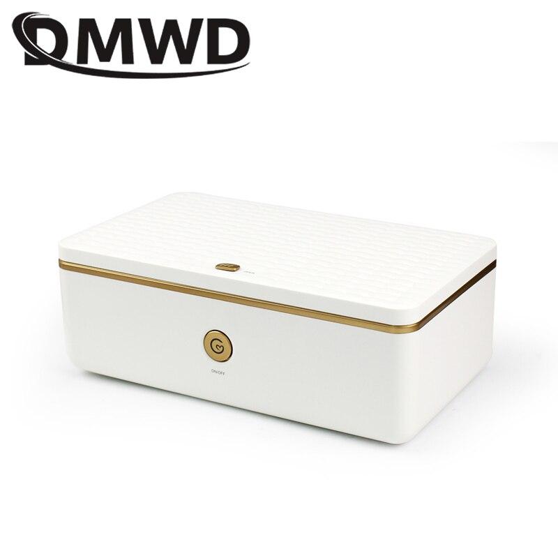 DMWD UV Sterilizer Disinfection Cabinet Nail Art Makeup Brush Manicure Cleaning Ultraviolet Sterilization Box Ozone Generator EU