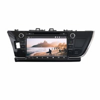 KLYDE 9 2 Din Android 8.1 8 Core Car Radio For TOYOTA Corolla 2013 with DVD 1024*600 Car Audio Stereo Audio Player