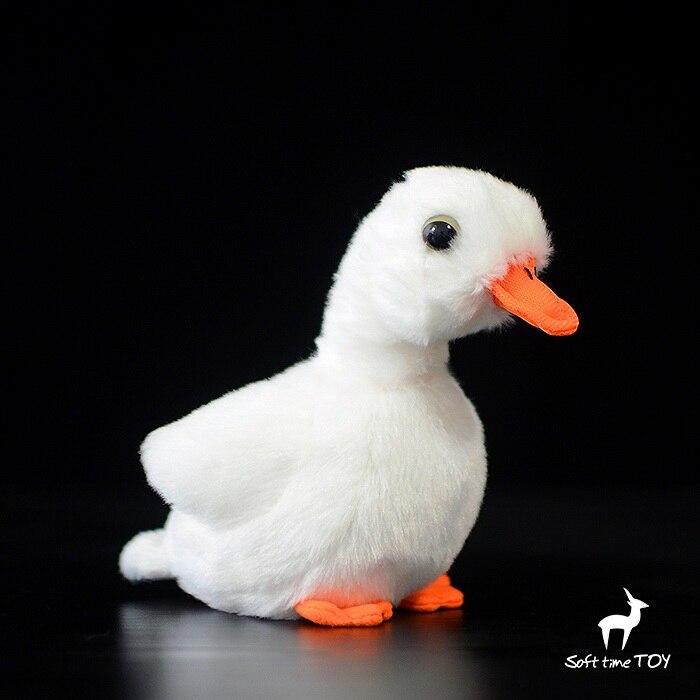 Plush Toy White Ducks Animals Baby Safety Toys Kawaii