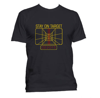 New Fashion Graphic Letter T Shirt Men Casual Cotton Short Sleeve New Stay on Target Computer Star War Geek T Shirt Dress