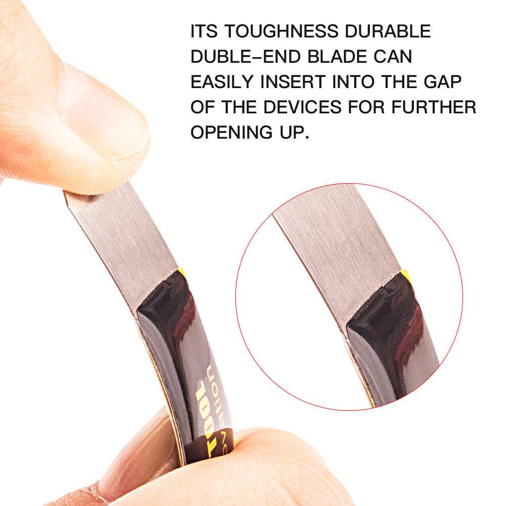 الهاتف إصلاح أدوات المعادن شقة Spudger شاشة تفكيك إزالة ل فون باد اللوحي المحمول ووتش المعادن Spudger