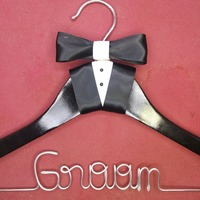 Free Shipping Personalized Wedding Hanger Bridesmaid Gifts Name Hanger Brides Hanger Custom Bridal Gift White Hanger
