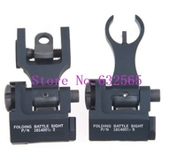 5 Pcs Lot Wholesale Troy Tactical Military Flip Up Rear Sight Set For Airsoft Rifle Gun