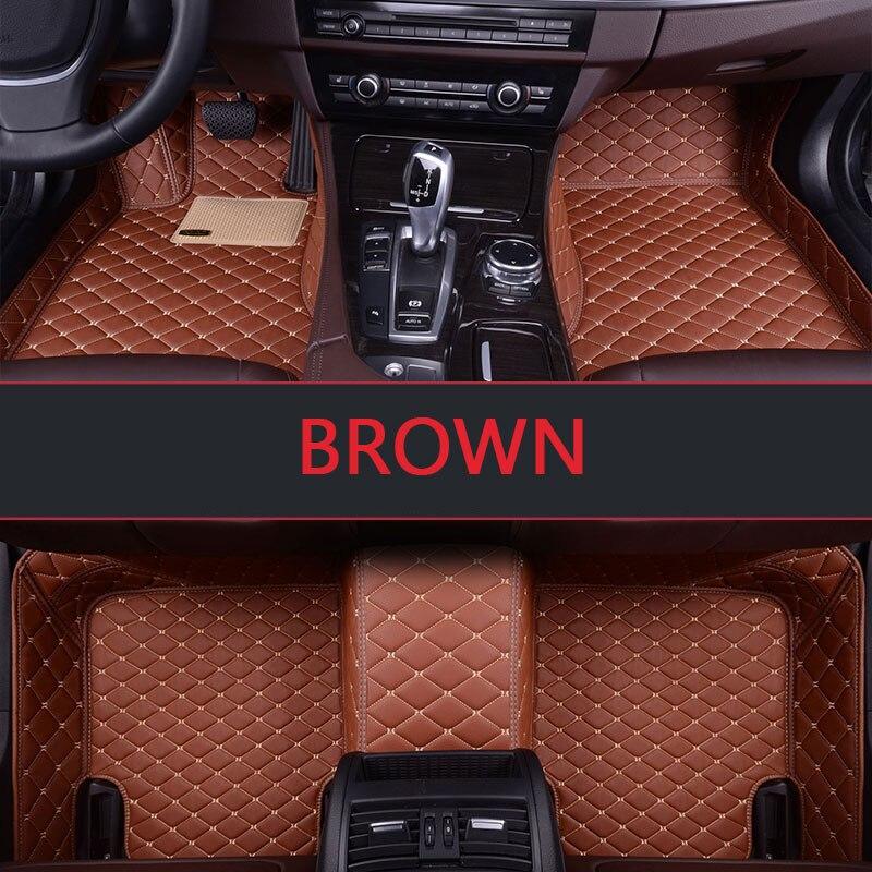 Custom fit car floor mats for Infiniti EX25 FX35/45/50 G35/37 JX35 Q70L QX80/56 3D all weather car-styling carpet floor liner