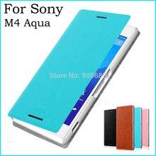 Для Sony Xperia M4 aqua чехол люкс Флип кожаный чехол для Sony Xperia M4 aqua Бумажник Кожа PU Стенд Чехол