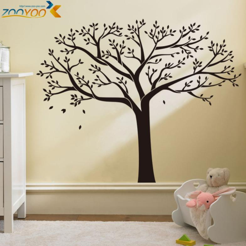 Wonderful Tree Wall Decor Home Bumper Sticker Bedroom Living Room 3d Diy Removable Decal Tattoos Vinyl Wall Sticker Home Decor