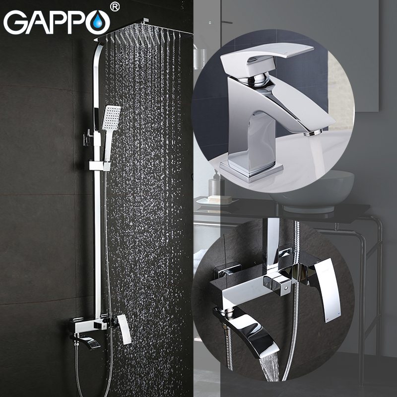 GAPPO robinets de baignoire robinets de baignoire en laiton mitigeur de bassin robinets cascade salle de bains robinet de bassin