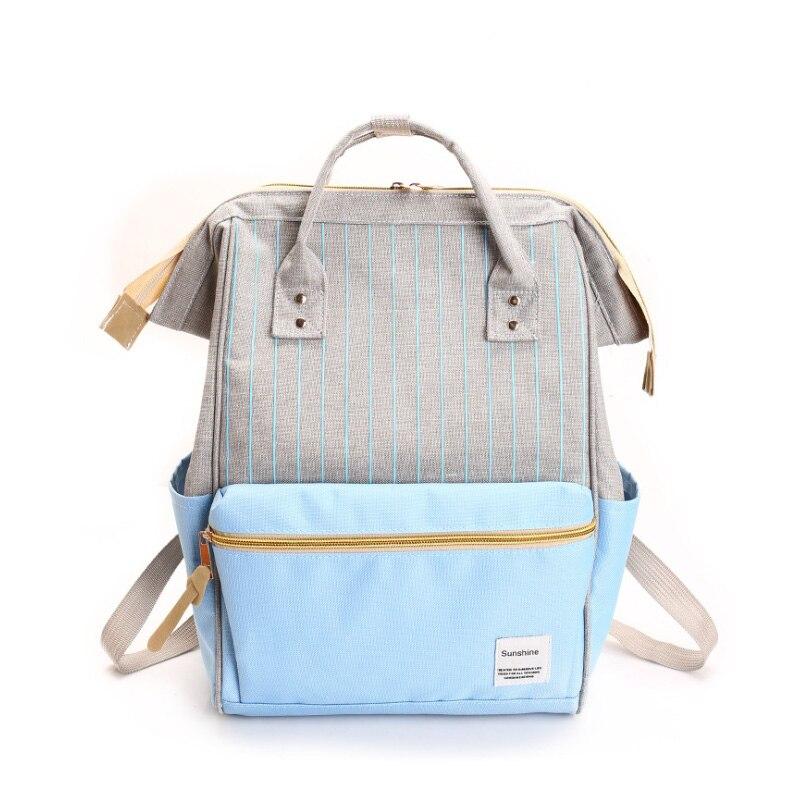 Luggage & Bags Persevering Patchwork Stripe Backpacks Women Shoulder School Bag For Students Teen College Bookbag Panelled Canvas Rucksack Loptap Nbxq254 Various Styles Backpacks