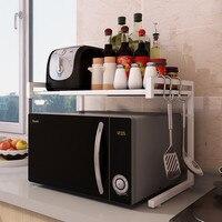 キッチンラック、格納式、多機能電子レンジラック、オーブン収納ラック、床多層省スペースストーブカウンター