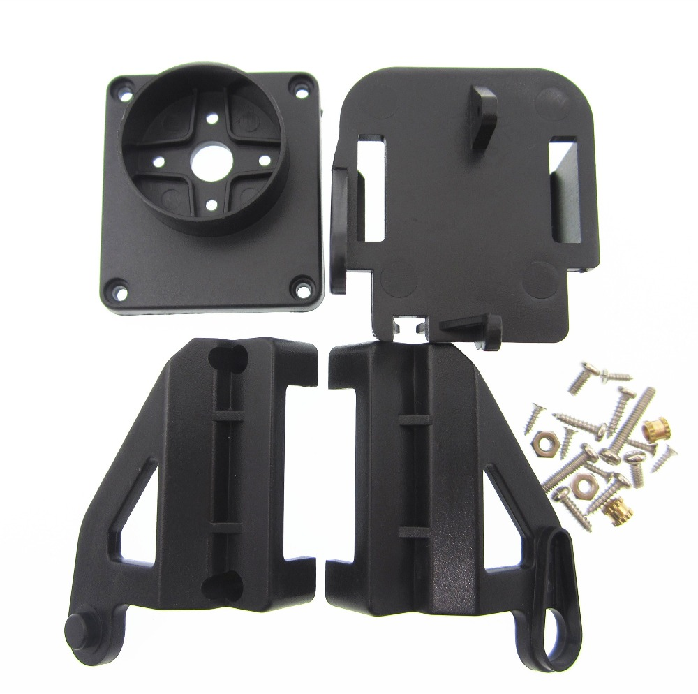 Servo bracket PT Pan/Tilt Camera Platform Anti-Vibration Camera Mount for Aircraft FPV dedicated nylon PTZ for 9G SG90 зеркало с фацетом в багетной раме evoform exclusive 56x86 см фреска 84 мм by 1239
