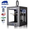 WANHAO FDM 3D принтер D6 PLUS с быстрой скоростью печати нити и программное обеспечение бесплатно большой размер печати области