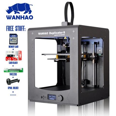 wanhao fdm 3d impressora d6 plus com velocidade de impressao rapida filamentos software para livre