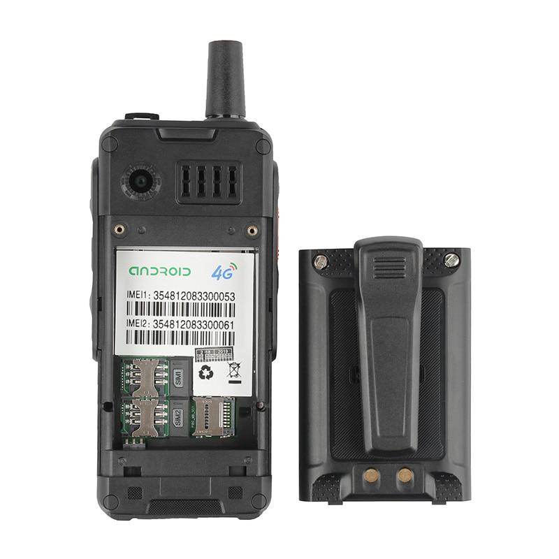 UNIWA alpes F40 téléphone portable Zello talkie walkie IP65 étanche FDD LTE 4G GPS Smartphone MTK6737M Quad Core 1GB + 8GB téléphone portable - 5