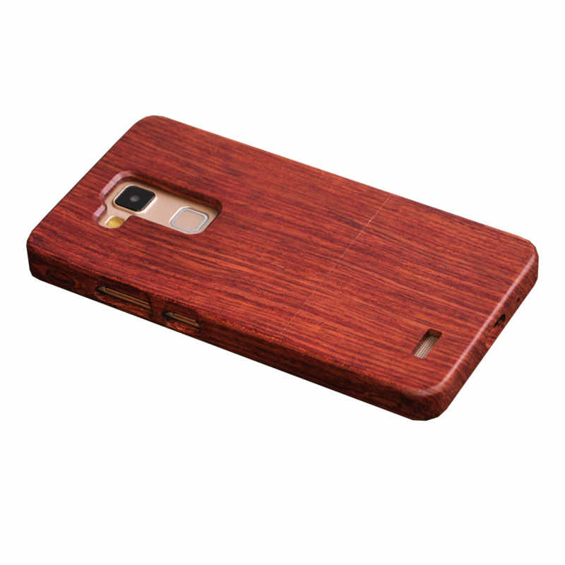 Bambú de madera caso de HUAWEI Ascend Mate 7 MT7 6,0 pulgadas cubierta Vintage palo de madera de nogal madera dura shell para CORNMI