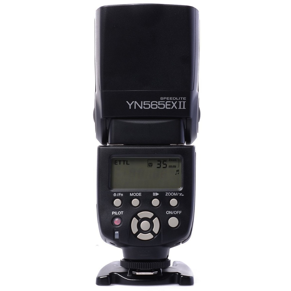 Yongnuo YN-565EX II YN 565EX II Wireless Flash Speedlite For Canon 6D 7D 70D 60D 600D XSi XTi T1i T2i T3 yongnuo 3x yn 600ex rt ii 2 4g wireless hss 1 8000s master flash speedlite yn e3 rt flash trigger for canon eos camera 5d 6d