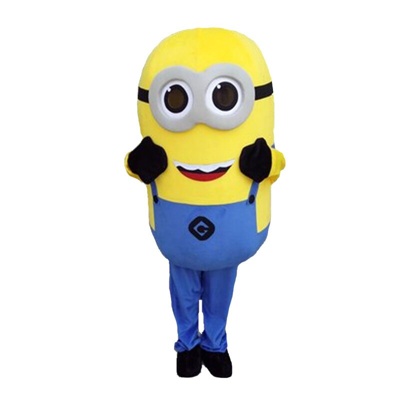 On Sale Free Shipping 22 Styles Despicable Minion Mascot Costume For Adults minion mascot costume