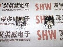 100 STKS 3.5 MM hoofdtelefoonaansluiting audio socket 5 pin DIP socket zwart PJ 306