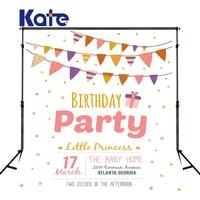 Kate Photography Backdrops Fundo Fotografico Para Estudio Birthday Party Can Customize Kate Background Backdrop