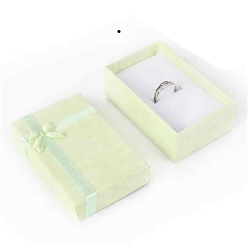 Романтические ювелирные изделия Подарочная коробка кулон Чехол Дисплей для серьги ожерелье кольцо часы Красота коробка ювелирных изделий
