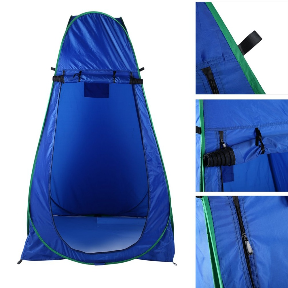 Waterproof Portable Size Beach Tent Pop Up Outdoor Camping Fishing Bathing Shower Tent Changing Toilet Room Tent portable shower tent outdoor waterproof tourist tents single beach fishing tent folding awning camping toilet changing room
