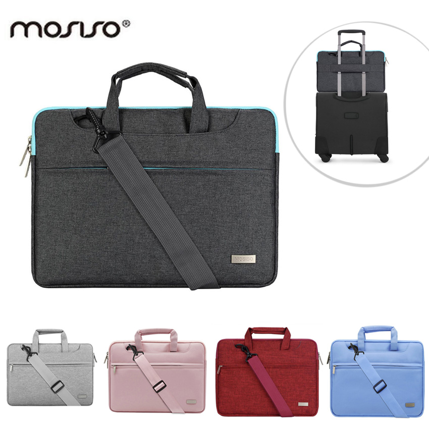 MOSISO 11 13 15 Laptop Briefcase Bag Cover for Macbook Air/Pro/Asus 11.6 13.3 15.6 inch  ...