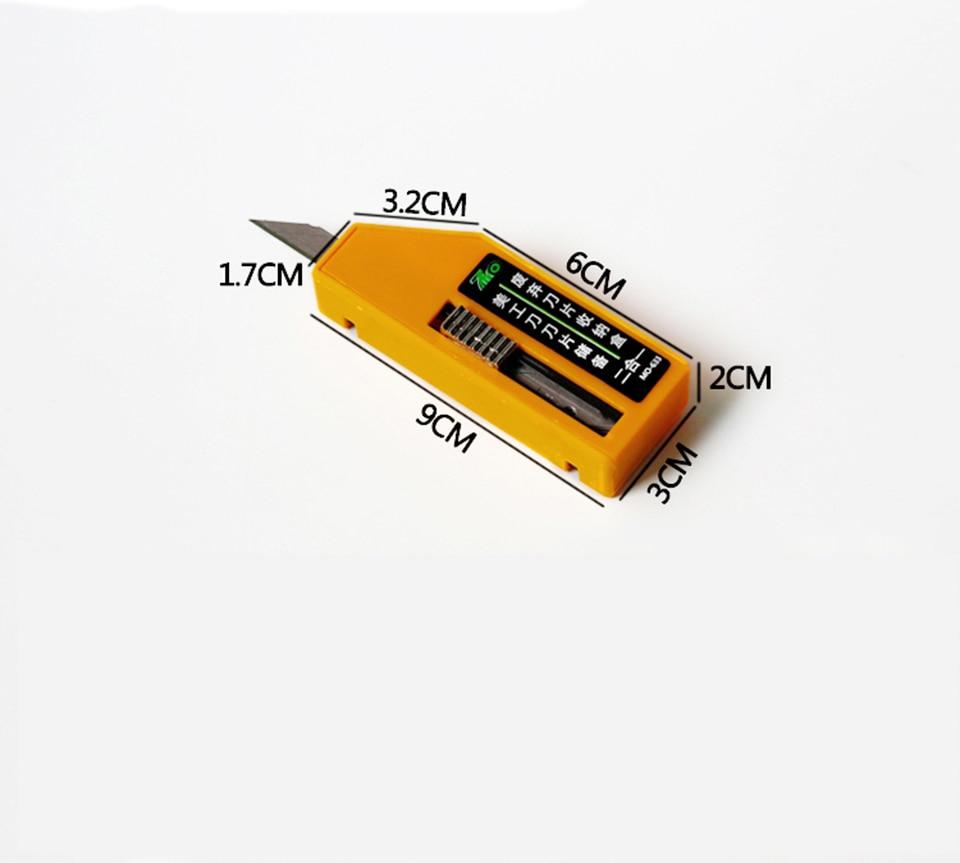 Image 2 - Желтое лезвие инструмент для удаления лезвия контейнеры безопасное лезвие для удаления случае MO 633-in Наклейки на автомобиль from Автомобили и мотоциклы