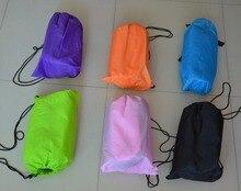 Fast Inflatable lamzac hangout Air Sleep Hiking Camping Bed Beach Sofa Lounge Banana Sleeping bags banana lazy lay bag