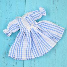 Neo Blythe Doll Plaid Dress