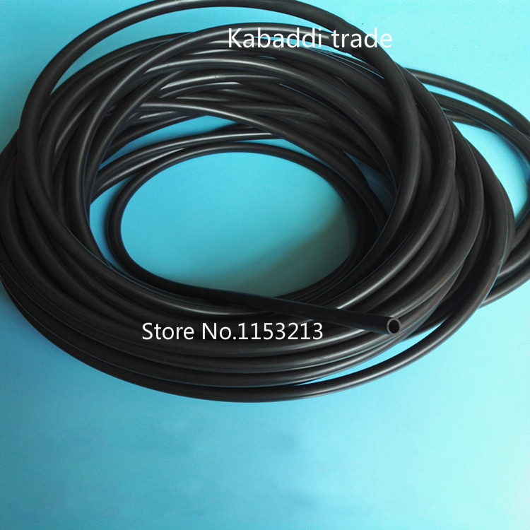 ID=3mm//4mm//6mm//8mm Silicone Silicon Vacuum Hose Turbo Dump Radiator Rubber Air Vac Pipe 1M MM3-R
