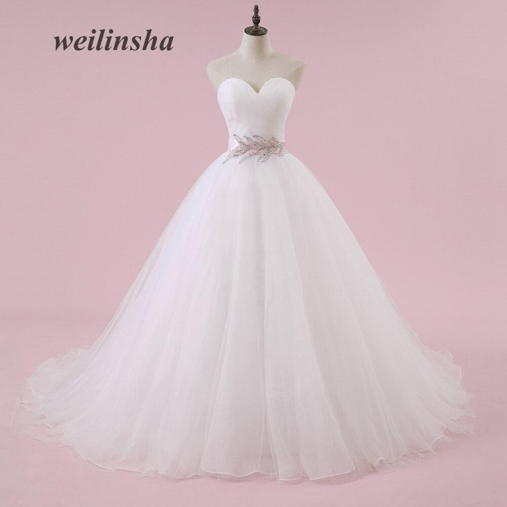 Weilinsha Vestidos de novia más baratos del tamaño Vestidos de - Vestidos de novia