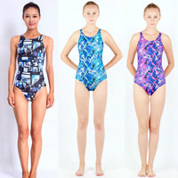 Swimwear Women Arena One Piece Swimsuit Competitive Swimming One Piece Suits Racing Swimsuits Girls Bathing Suits