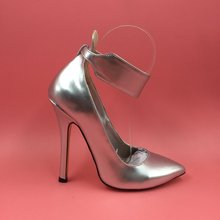 Real Silver Women Pumps Zapatos Mujer Sapatos Femininos Chaussure Femme Party Shoes For Women Sapato Feminino  Chaussures