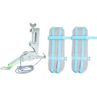 Lumbar Traction Device Cervical And Lumbar Traction Frame Canvas Traction Waist Belt Braces Supports
