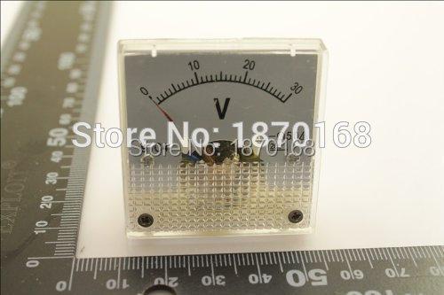 DC 3 V 5 V 10 V 15 V 20 V 30 V 50 V 100 V 150 V Analóg Paneles Volt - Mérőműszerek - Fénykép 3