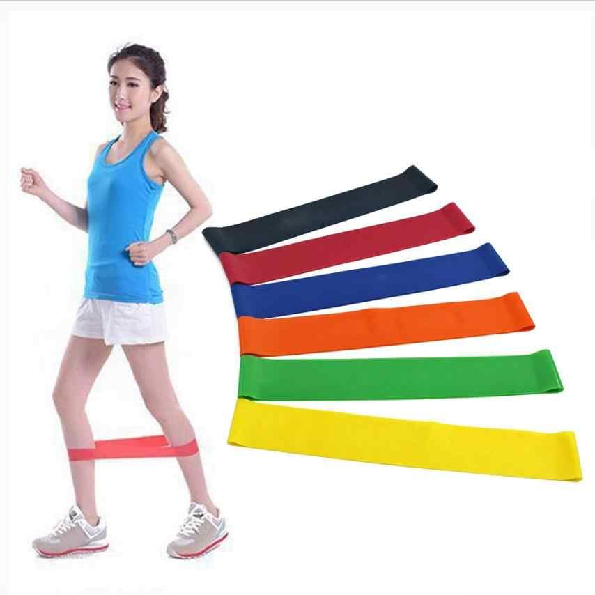 Domu siłownia Fitness ćwiczenia treningu szkolenia narzędzia naturalnego lateksu zestaw 6 poziom odporność na pętla do ćwiczeń pas do jogi apr26