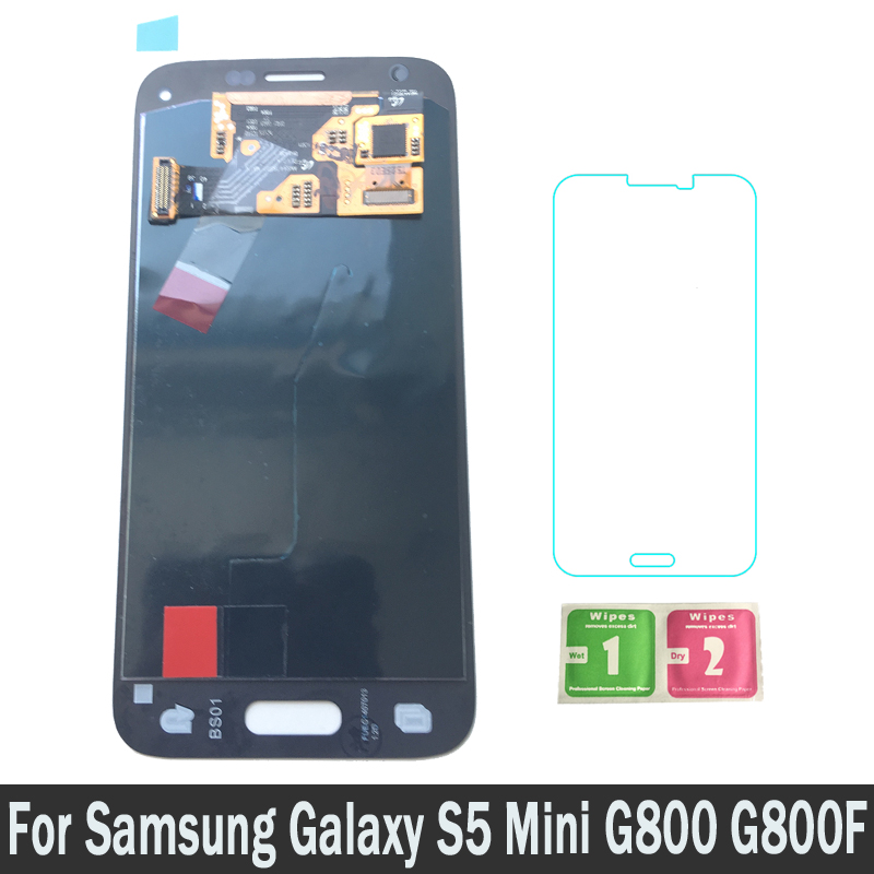 100% New Super AMOLED LCD For Samsung Galaxy S5 Mini G800F G800A G800HQ G800H Lcds Screen Display Touch Digitizer Assembly100% New Super AMOLED LCD For Samsung Galaxy S5 Mini G800F G800A G800HQ G800H Lcds Screen Display Touch Digitizer Assembly