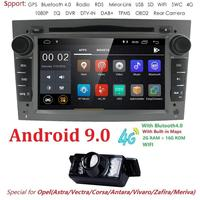 2din Android9.0 CarDVD Multimedia Player GPS Navigation for Opel Astra H G J Antara VECTRA ZAFIRA Vauxhall with CAN BUS 2GRAM 4G
