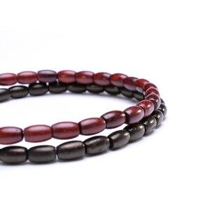 Image 5 - MOFRGO Glück Holz Tibetischen Buddha Perlen Armband Einfache Gebet Yoga Armband Amulett Meditation Armbänder Für Männer Frauen Einstellbare