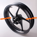 Motorcycle Front Wheel Rim For Triumph Daytona 675R & Street Triple R 2013 2014 Matte Black Aluminum Alloy High Quality